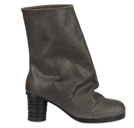 0810-ALAIN QUILICI-65MM MID CALF LENGTH CRUST BOOTS-2