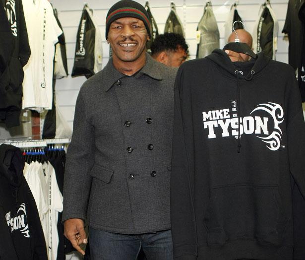 Mike Tyson Clothing Line Uk