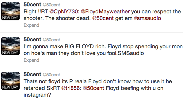 50 cent twitter