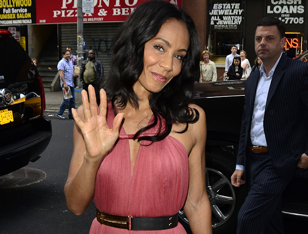 Jada Pinkett-Smith stops by 'The Today Show' in NYC