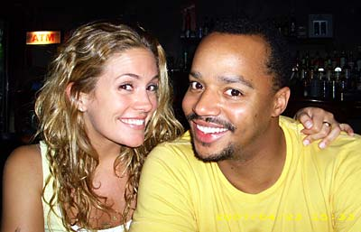 131-Donald Faison & Cacee Cobb Celebrate First Baby-1