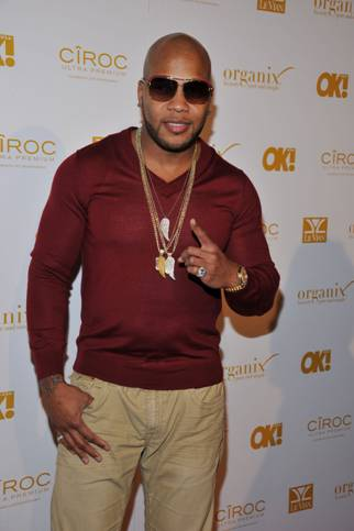 208-Flo Rida Rocks Pre-Grammy Party-5