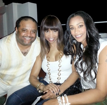 208-Tami Roman In Miami with TVOne Family-1