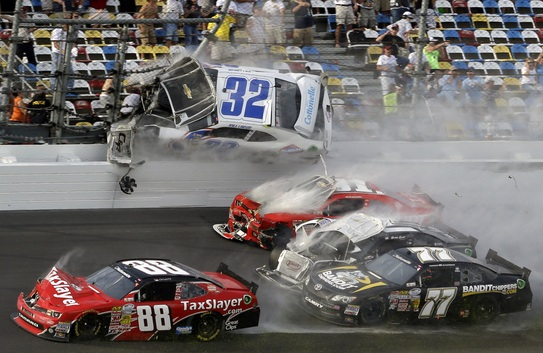 223-Daytona Raceway Crash Injures Fans In Grandstand-2