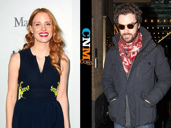 223-Jessica Chastain Goes Public With Italian Stallion-1