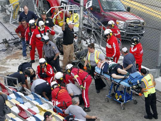 224-33 Fans Injures From Debris Hitting Daytona Stands-2