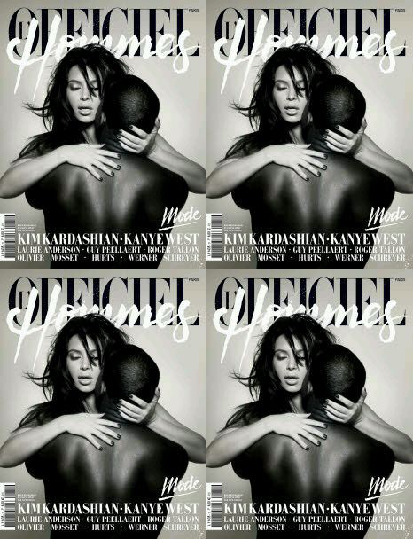 225-Kanye-West-And-Kim-Kardashian-Cover-LOfficiel-Hommes-1