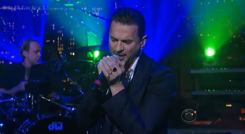 311-Depeche Mode Performs Heaven on Letterman-1