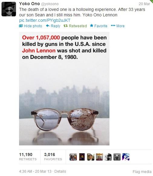 321-Yoko-Ono-Tweets-pic-of-John-Lennon's Bloody Glasses-2