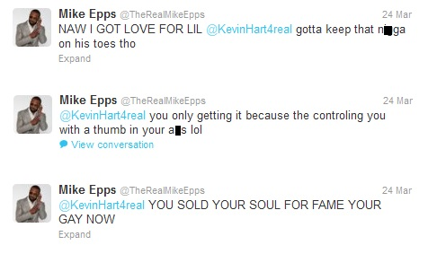 Kevin Hart on Mike Epps Attacks Kevin Hart On Twitter   Mike Epps   Zimbio