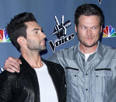 409-Adam Levine Calls Blake Shelton A F___ Idiot-2