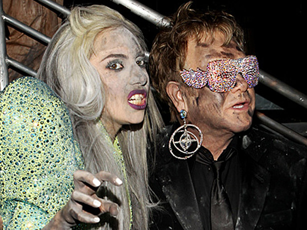 427-Gaga Is God Monster to Elton John's Son -1