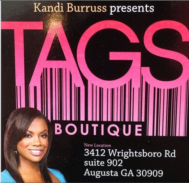 Kandi burruss clothing store tags Clothing stores