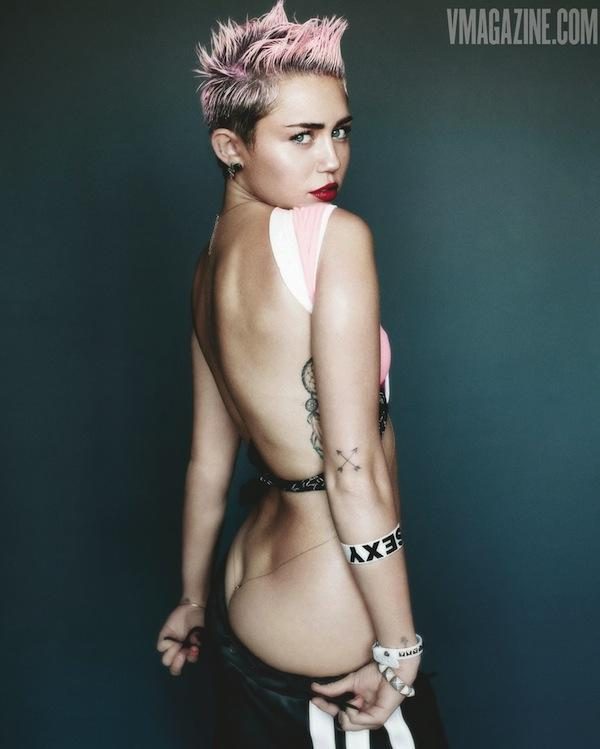 Good Looking Miley Cyrus And Is That A Half Moon We See