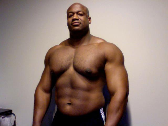 Huge black gay men
