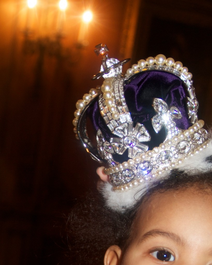 Blue Ivy Rocks $50,000 Blue Crown-628-1
