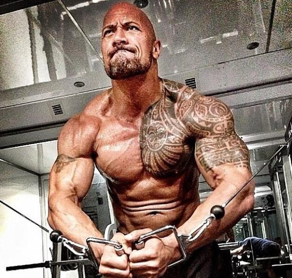 Dwayne Johnson Bulks Up For Hercules Celebnmusic247