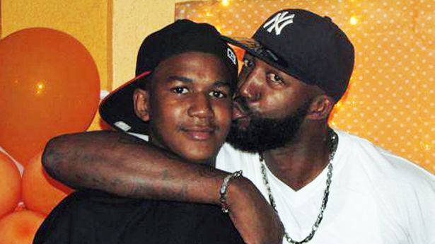 How Will George Zimmerman's Attorneys Argue His Whereabouts-trayvon-and-dad-613-1
