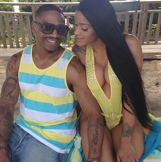 Joseline and Stevie J Eloped-604-5