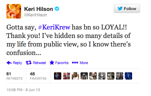 Keri Hilson Announces Departure From Music-610-1
