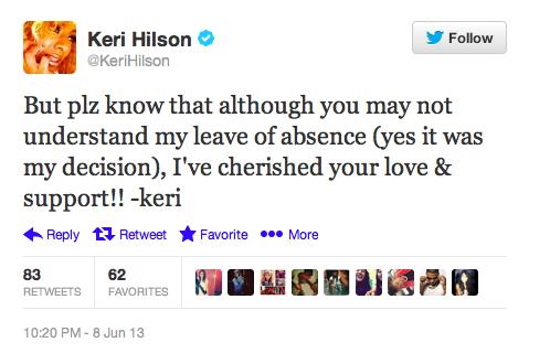 Keri Hilson Announces Departure From Music-610-2