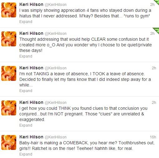 Keri Hilson Announces Departure From Music-610-4