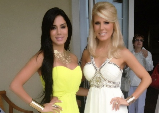 Laura Soares and Gretchen Rossi Spotted at Ciroc Yacht Party-615-1