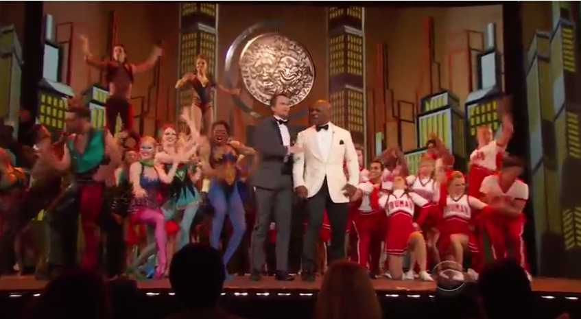 Neil Patrick Harris and Mike Tyson Rock Tony Awards-610-1