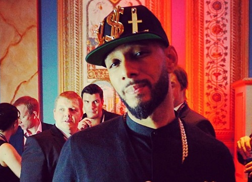 Swizz Beatz Openning His Own Art Gallery-607-1