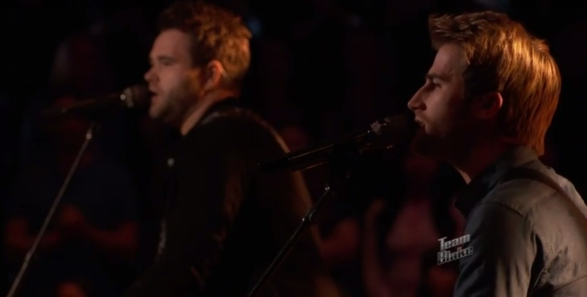 The Swon Brothers Turn the Page Bob Seger on The Voice-team-blake-610-1