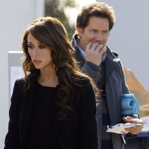 Jennifer Love Hewitt and Jamie Kennedy out and about in LA