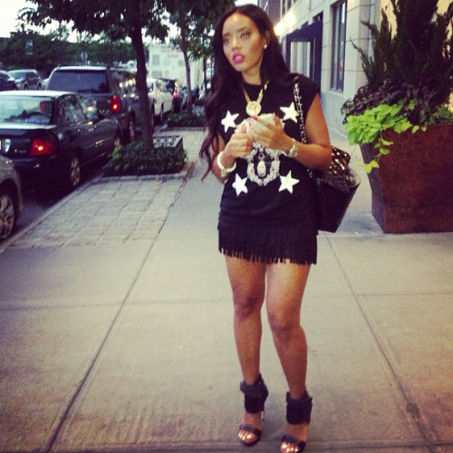 Angela Simmons Rocks Kingdom Cave + Etomi and MIA Rocco Sandals-716-1