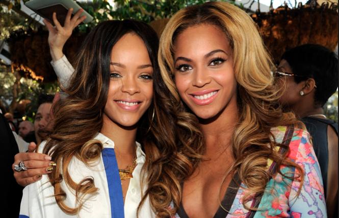 Beynonce Shades Rihanna's Rock Star Life Style-705-1