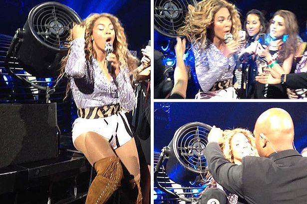 Beyonce's Hair Has Catastrophe with Fan-723-3