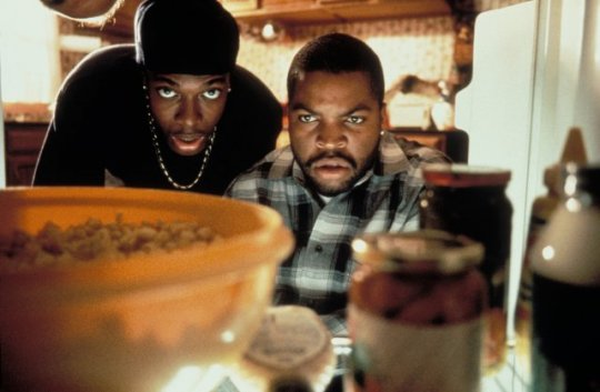 Chris Tucker And Ice Cube Doing Friday Testers-719-1