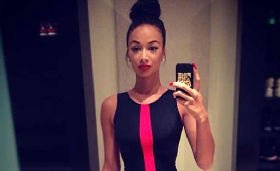 Draya Michele Sexy In Lenisha Marie Dress-719-2