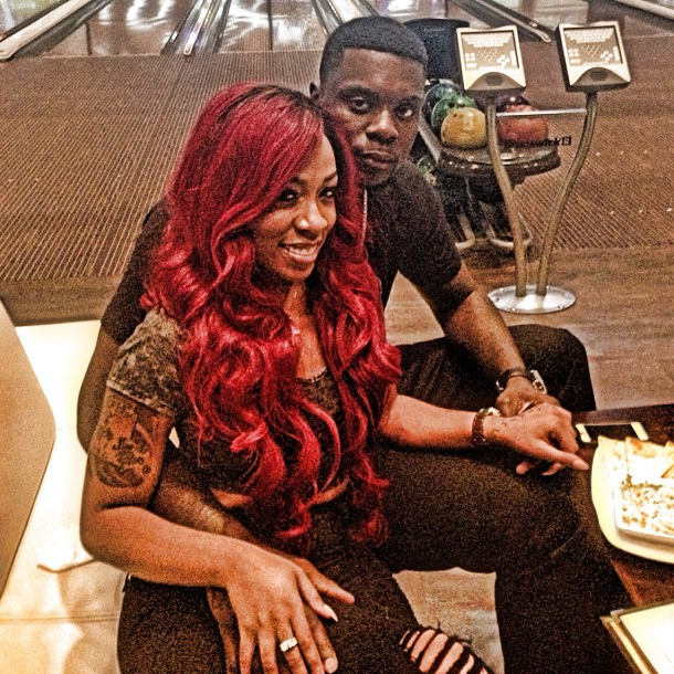 ... michelle has a new man love and hip hop atlanta star k michelle has K Michelle And Chad Johnson