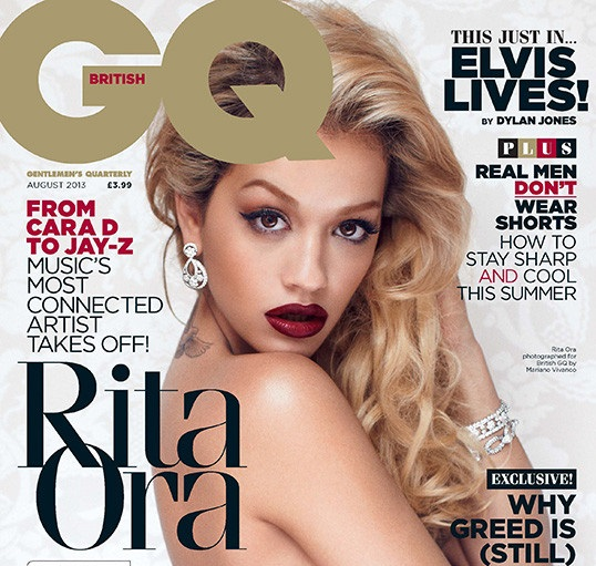 Rita Ora Takes It All Off for GQ-703-3