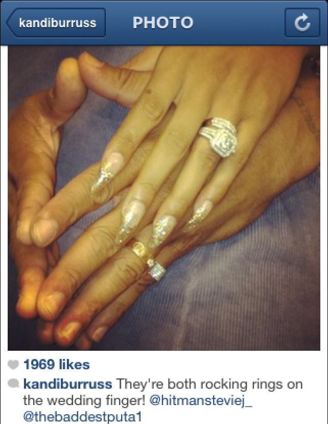 Stevie J and Joseline Prove Their MarriedStevie J And Joseline Wedding Photos