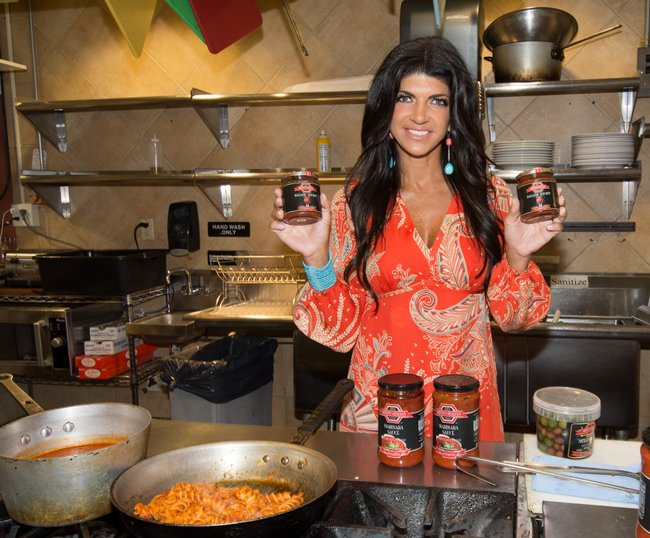 "Teresa Guidice's ""Skinny Italian"" Specialty Food Line Launch"
