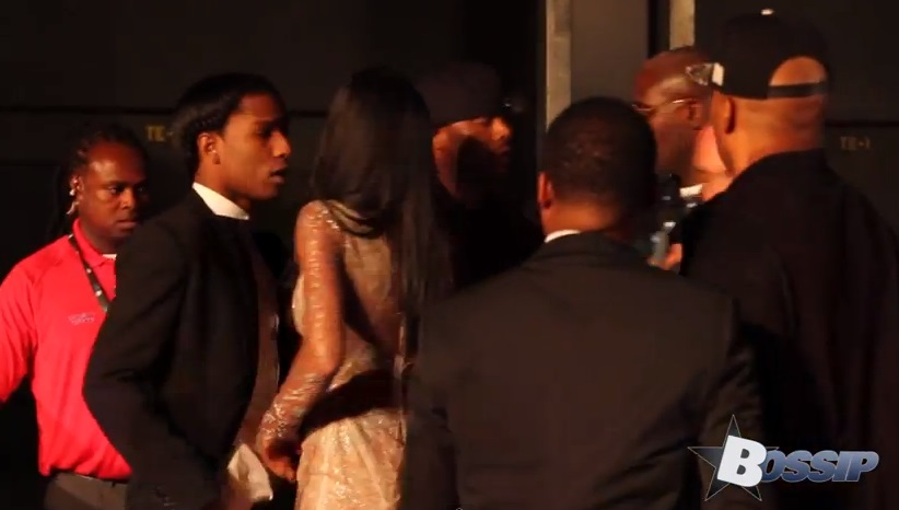 ASAP Rocky Fights Security At MTV VMAs-826-1