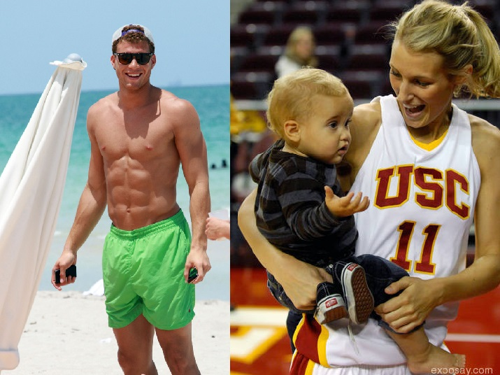 Blake Griffin Parents Blake griffin loves his