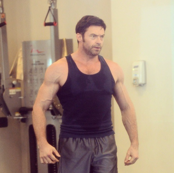 Hugh Jackman Workout 2013