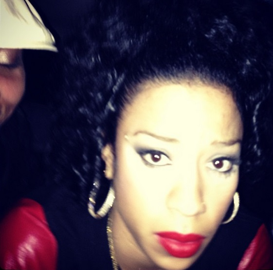 Frankie Lons and her daughter Elite head to 'Paternity ... |Keyshia Cole 2013 Instagram