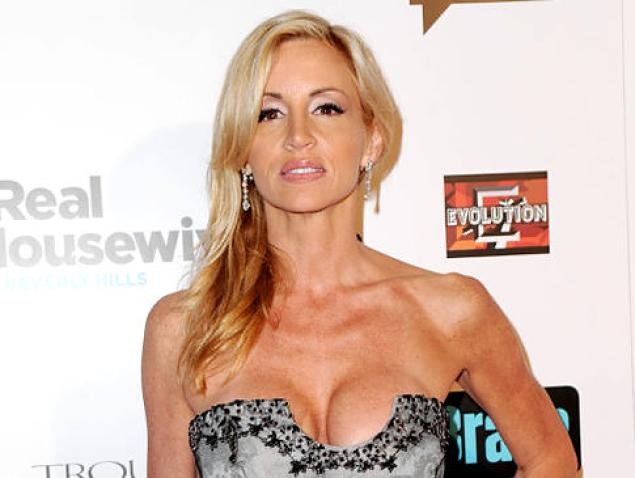 Camille Grammer Diagnosed with Early-stage Endometrial Cancer-112-1