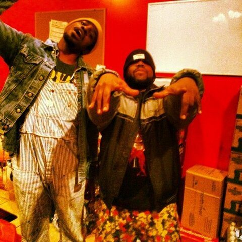 Big Boi-Andre 3000-In Studio-1208-2