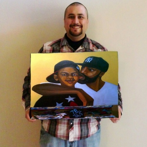 Is-George-Zimmerman-Infamy-The-Selling-Force-For-Painting-news-1218-4