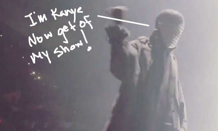 Kanye West Has Fan Thrown Out in Texas-1210-4