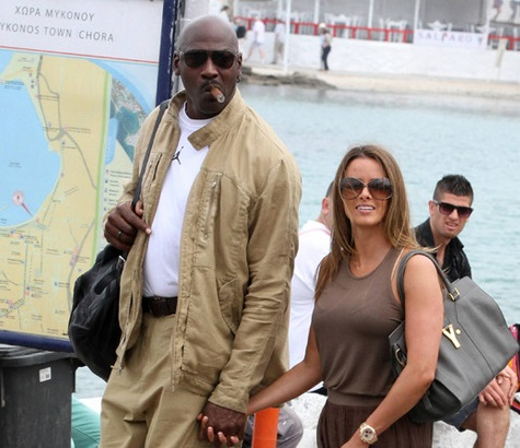 R Kelly And His Wife And Kids Michael Jordan and Yve...