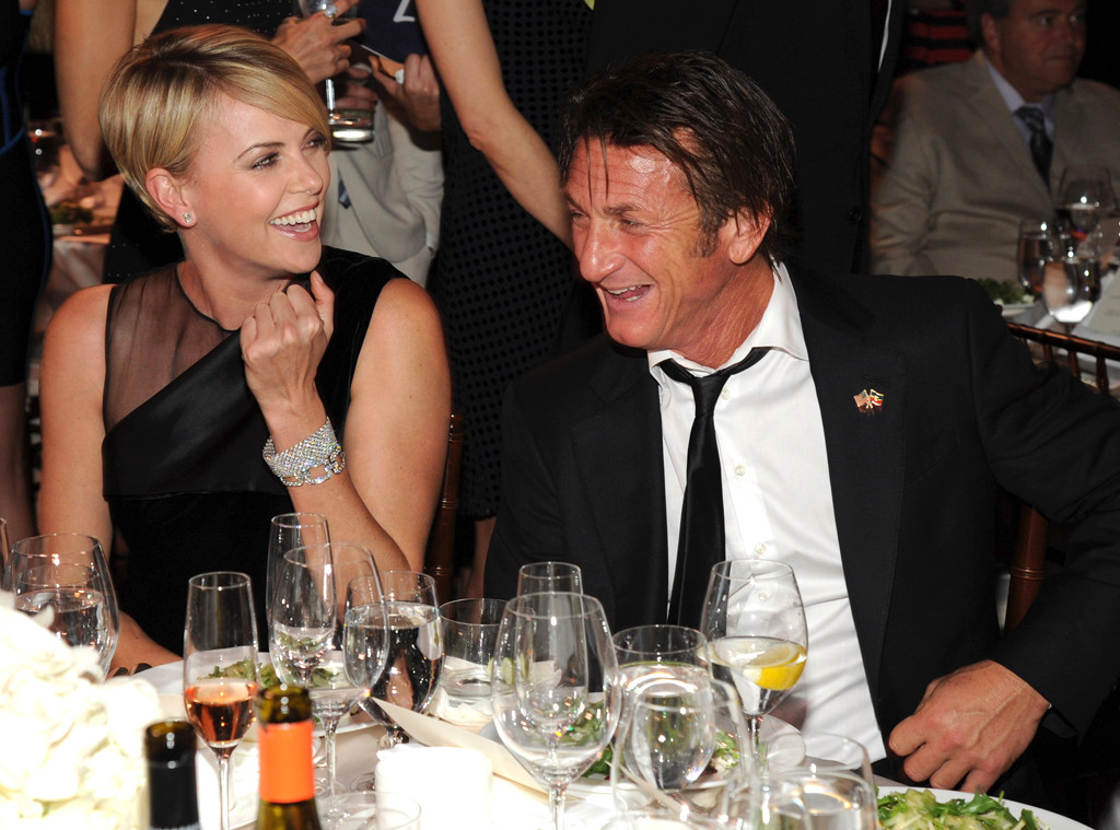 Charlize theron sean penn hookup since